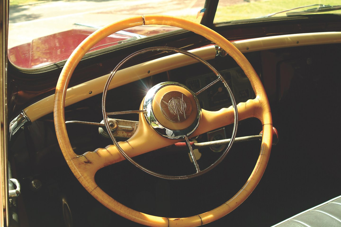 1949 Willys-Overland Jeepster Steering Wheel
