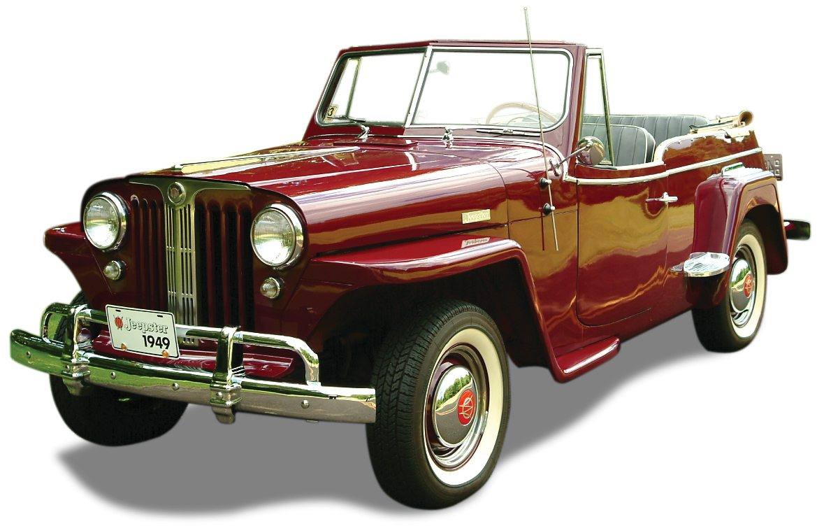 1949 Willys-Overland Jeepster Top Down
