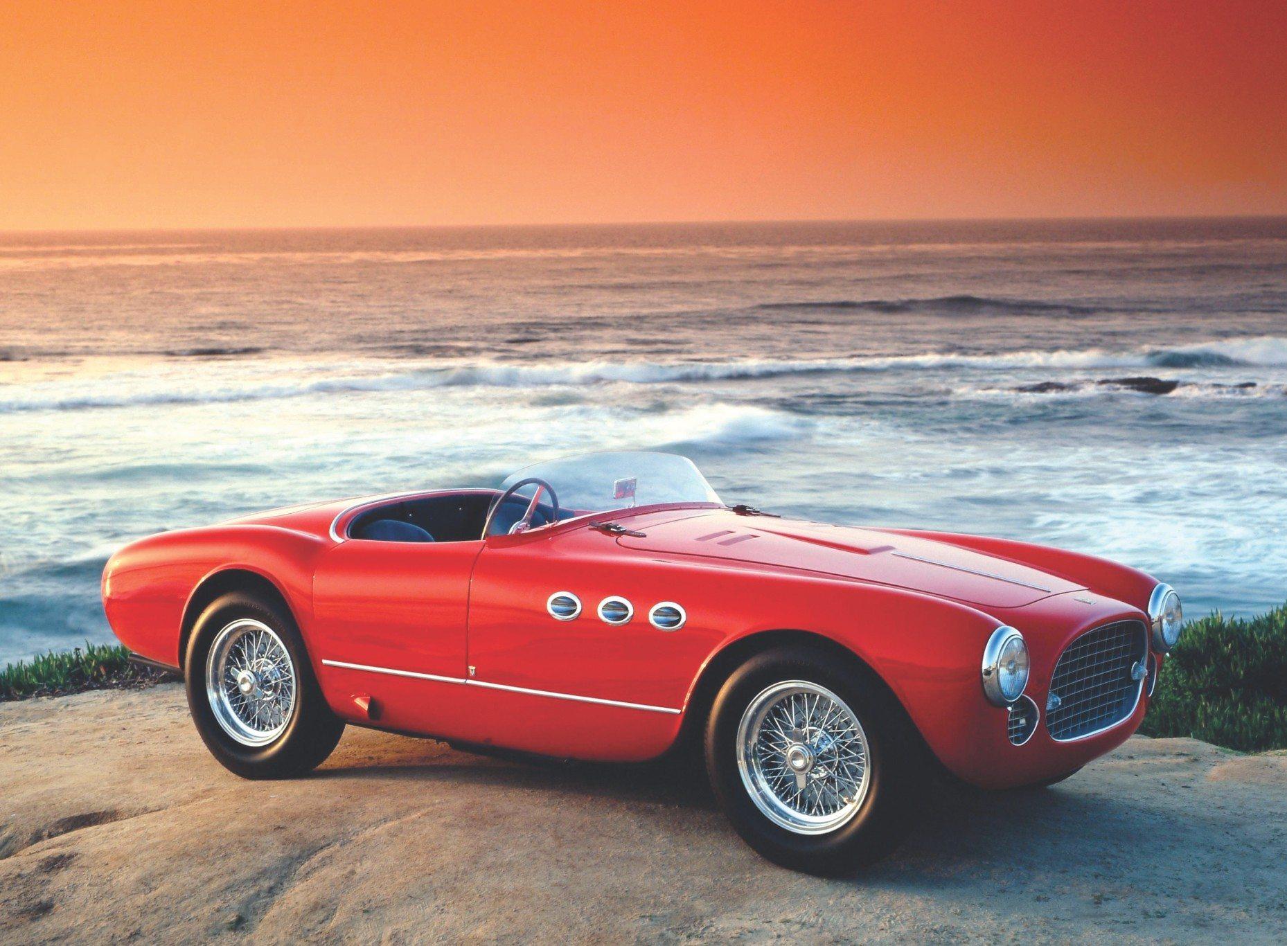 1952 Ferrari 225 S coachwork by Vignale