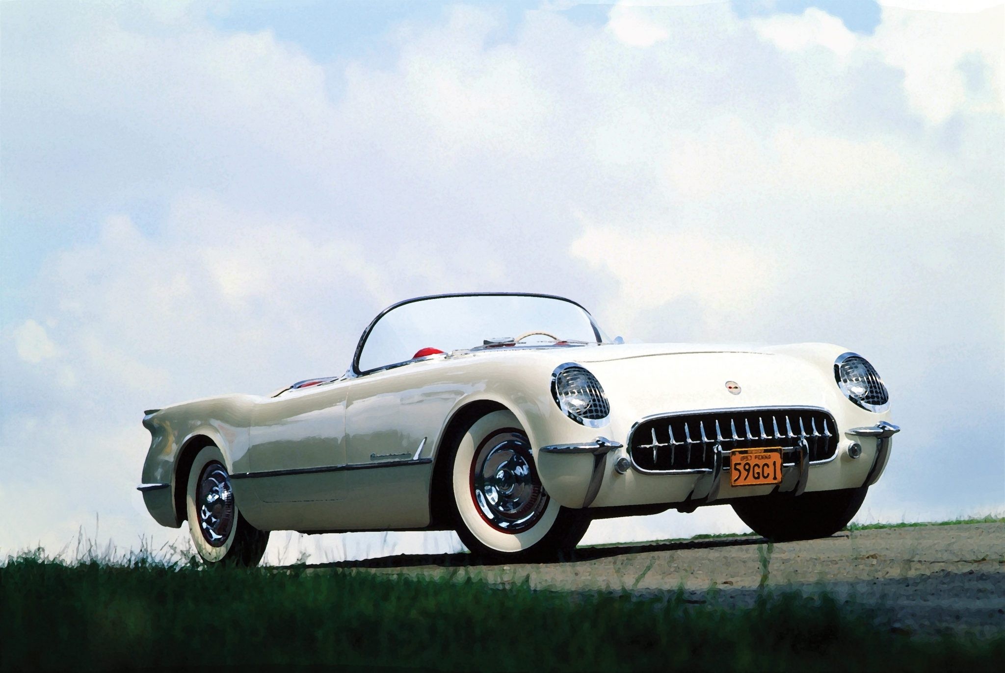 1953 Corvette Designed by Harley Earl