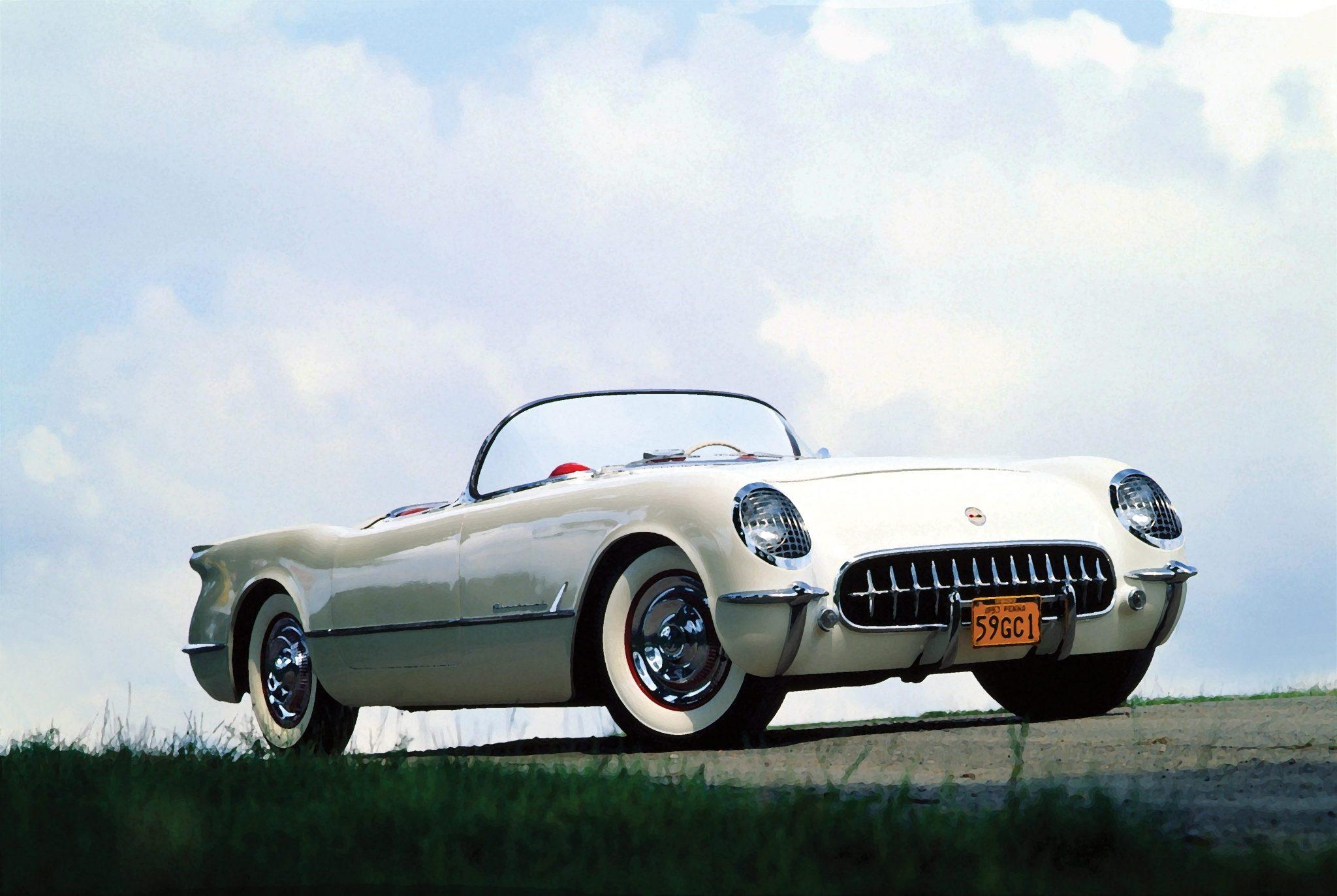 1953 Corvette Designed by Harley Earl