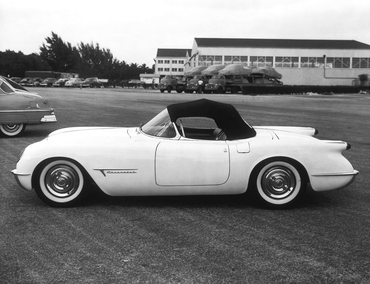 1953 Corvette Prototype Roof Up