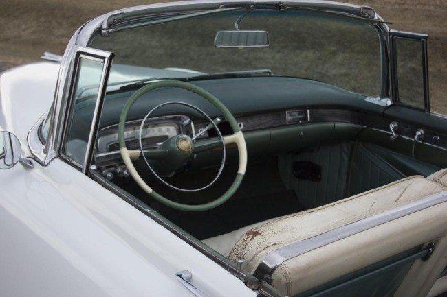 1954 Cadillac Series 62 Eldorado Convertible Interior
