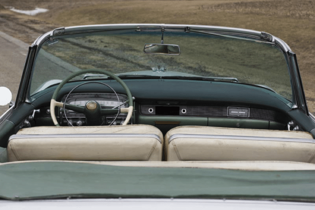 1954 Cadillac Series 62 Eldorado Convertible Interior Rear