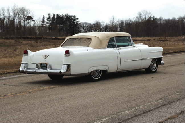 1954 Cadillac Series 62 Eldorado Convertible Rear View