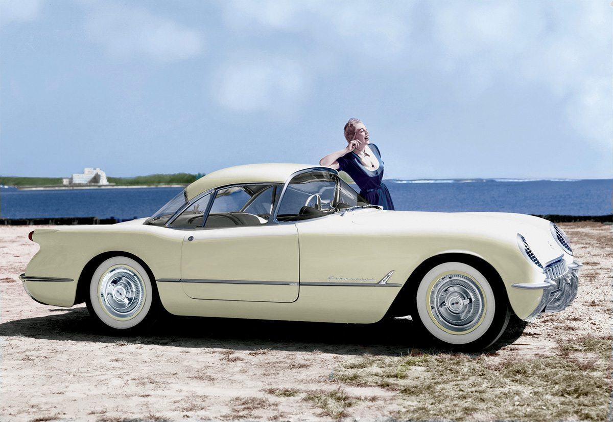 1954 Corvette Detachable Hardtop Prototype