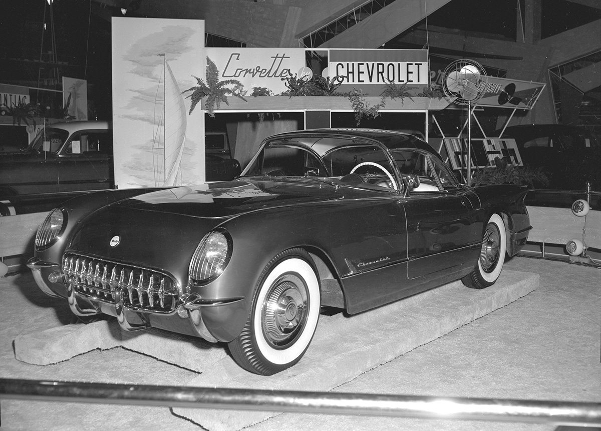 1954 Corvette Hardtop Prototype 1955 Canadian National Exhibition