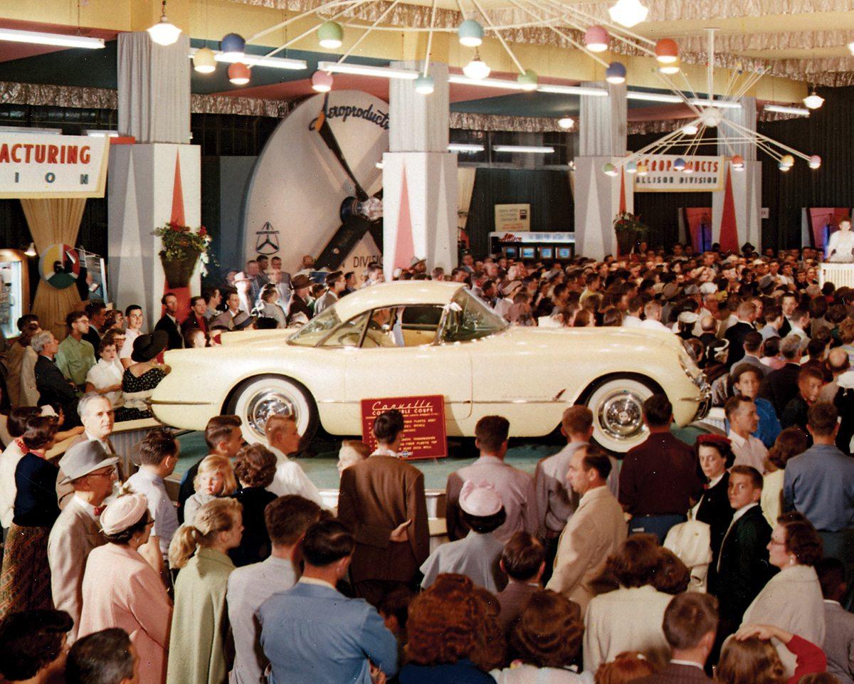 1954 Corvette Hardtop Prototype