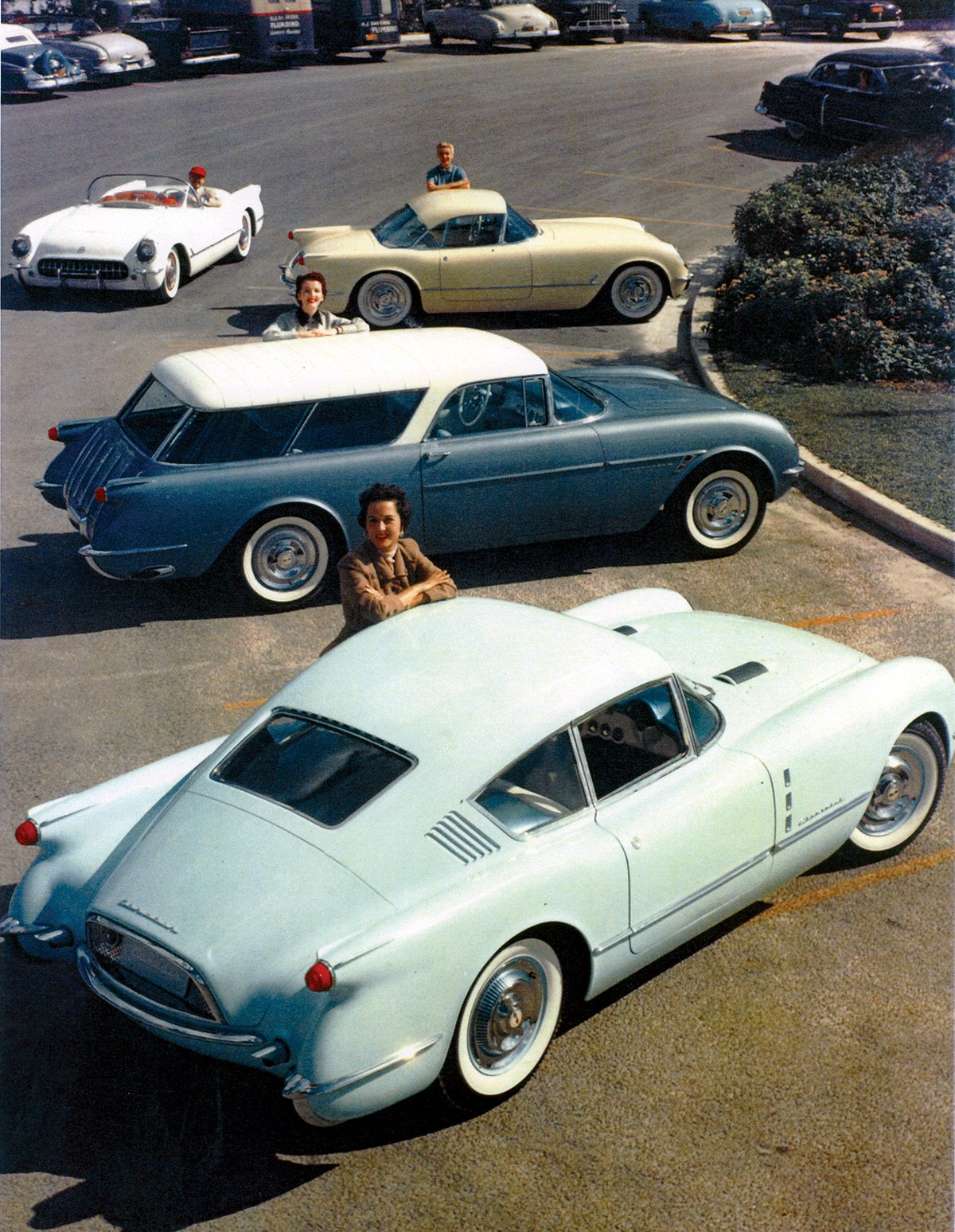 1954 Motorama Corvette and Corvette-based Show Cars