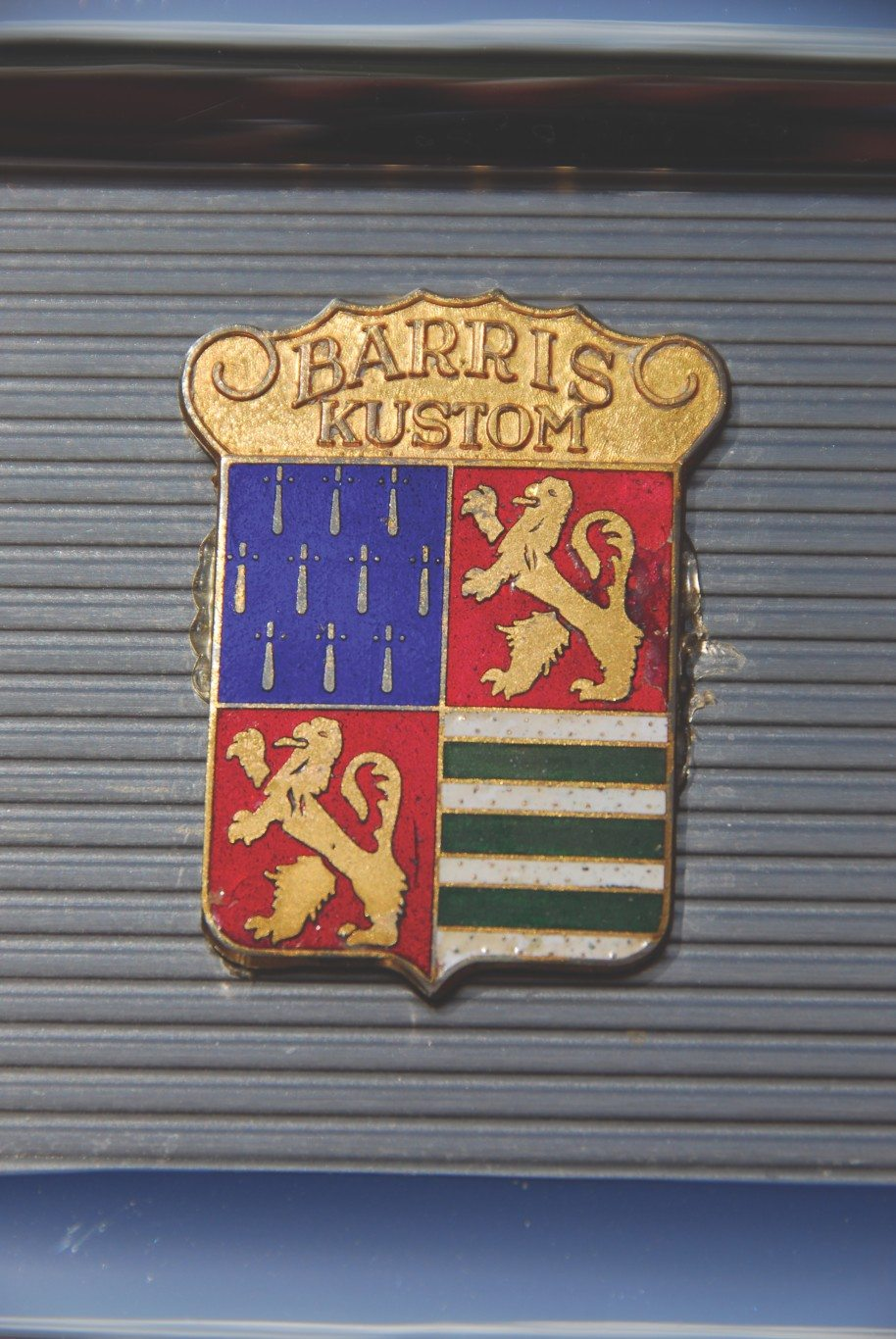 1955 Chevy Aztec Custom Barris Kustom Badge