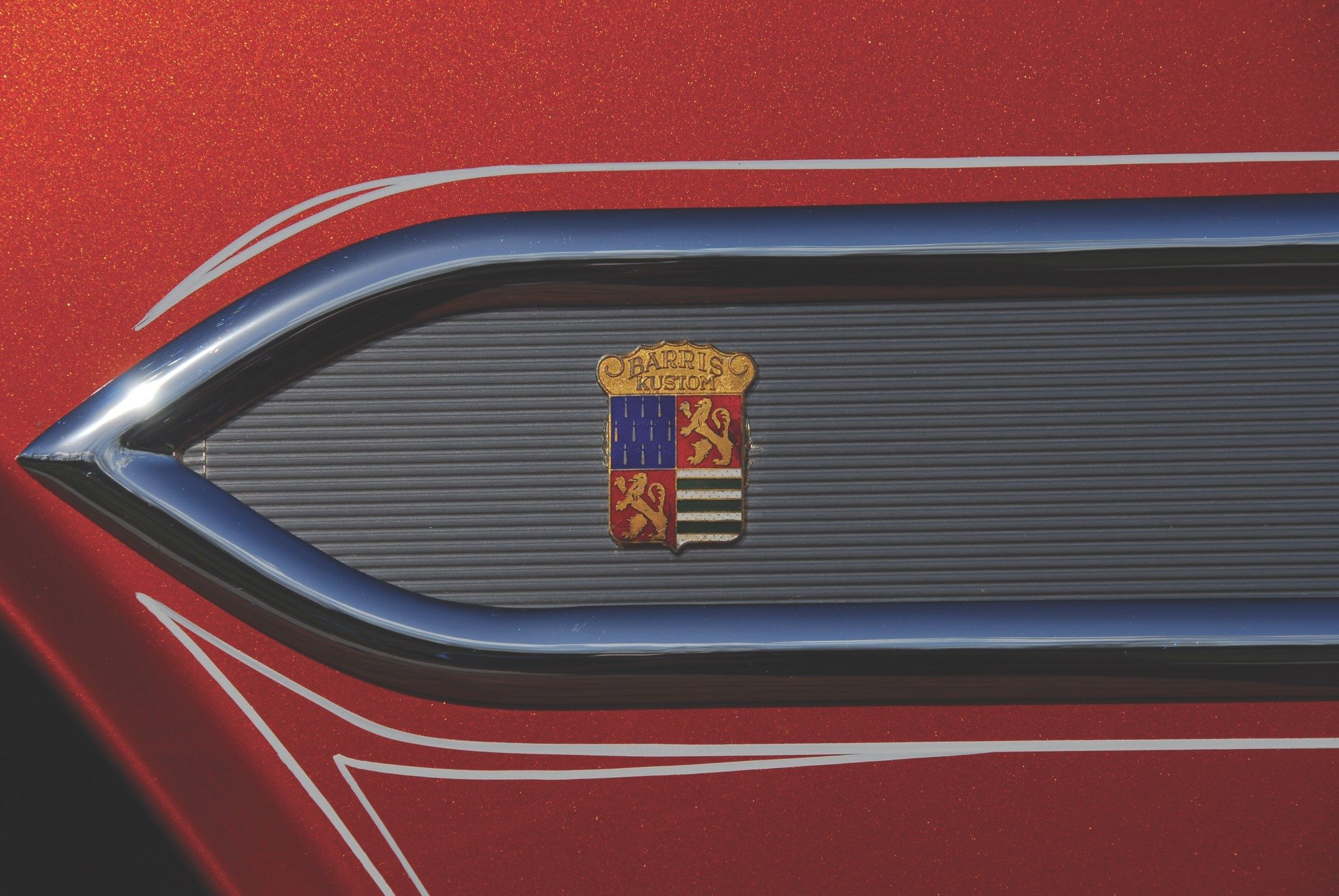 1955 Chevy Aztec Custom Barris Kustom