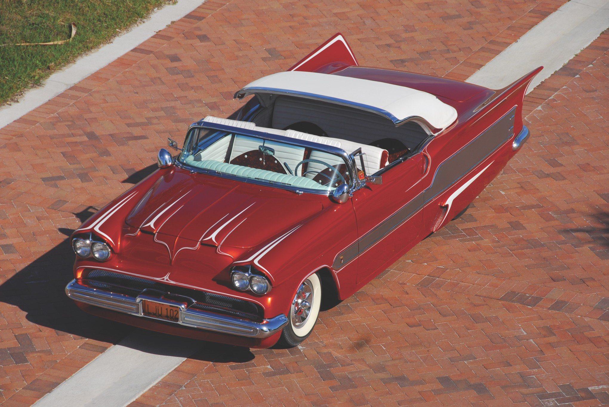 1955 Chevy Aztec Custom Convertible