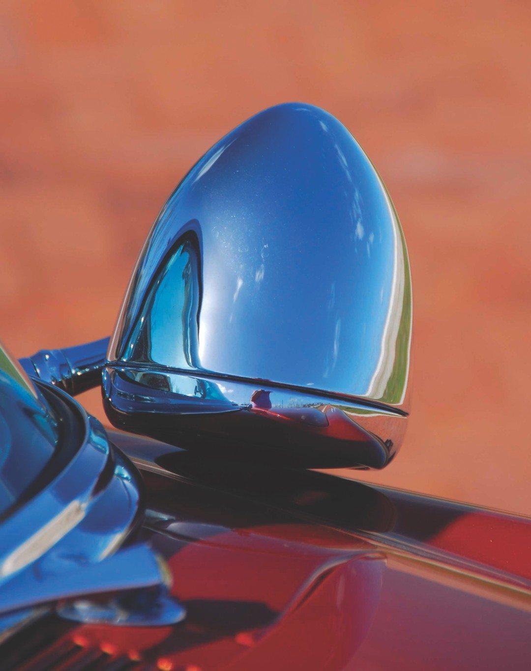 1955 Chevy Aztec Custom Crome Mirror