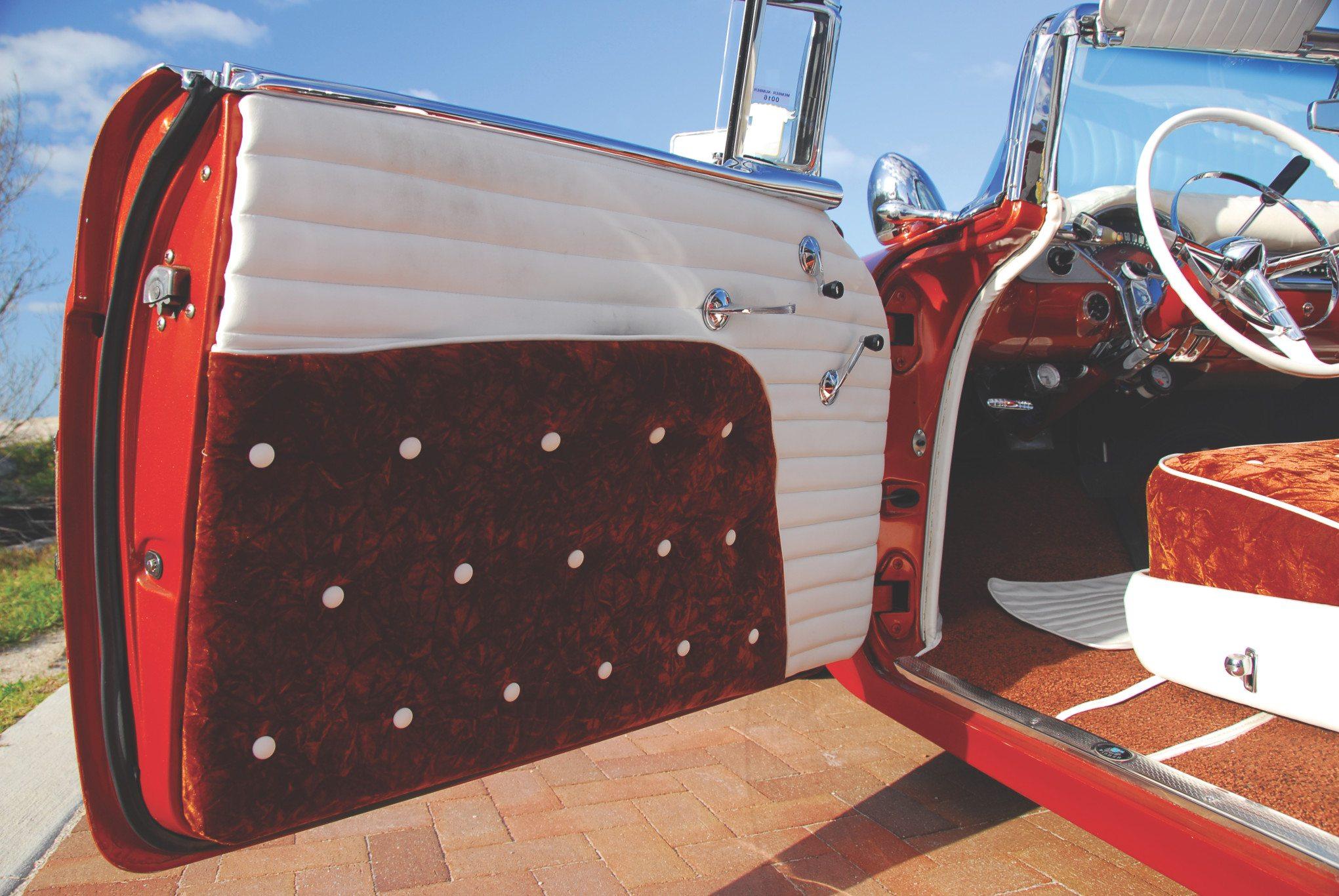1955 Chevy Aztec Custom Driver Door