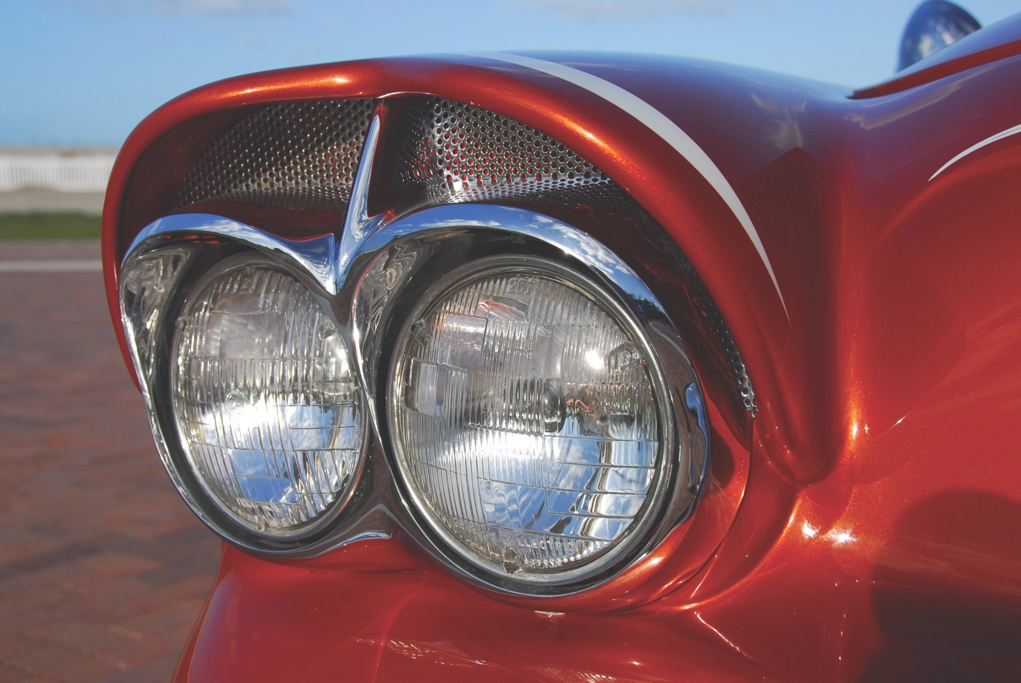 1955 Chevy Aztec Custom Headlight