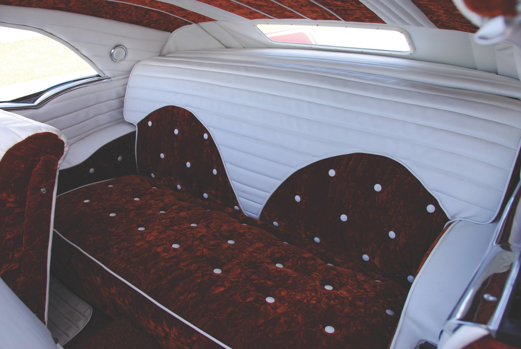 1955 Chevy Aztec Custom Rear Seat