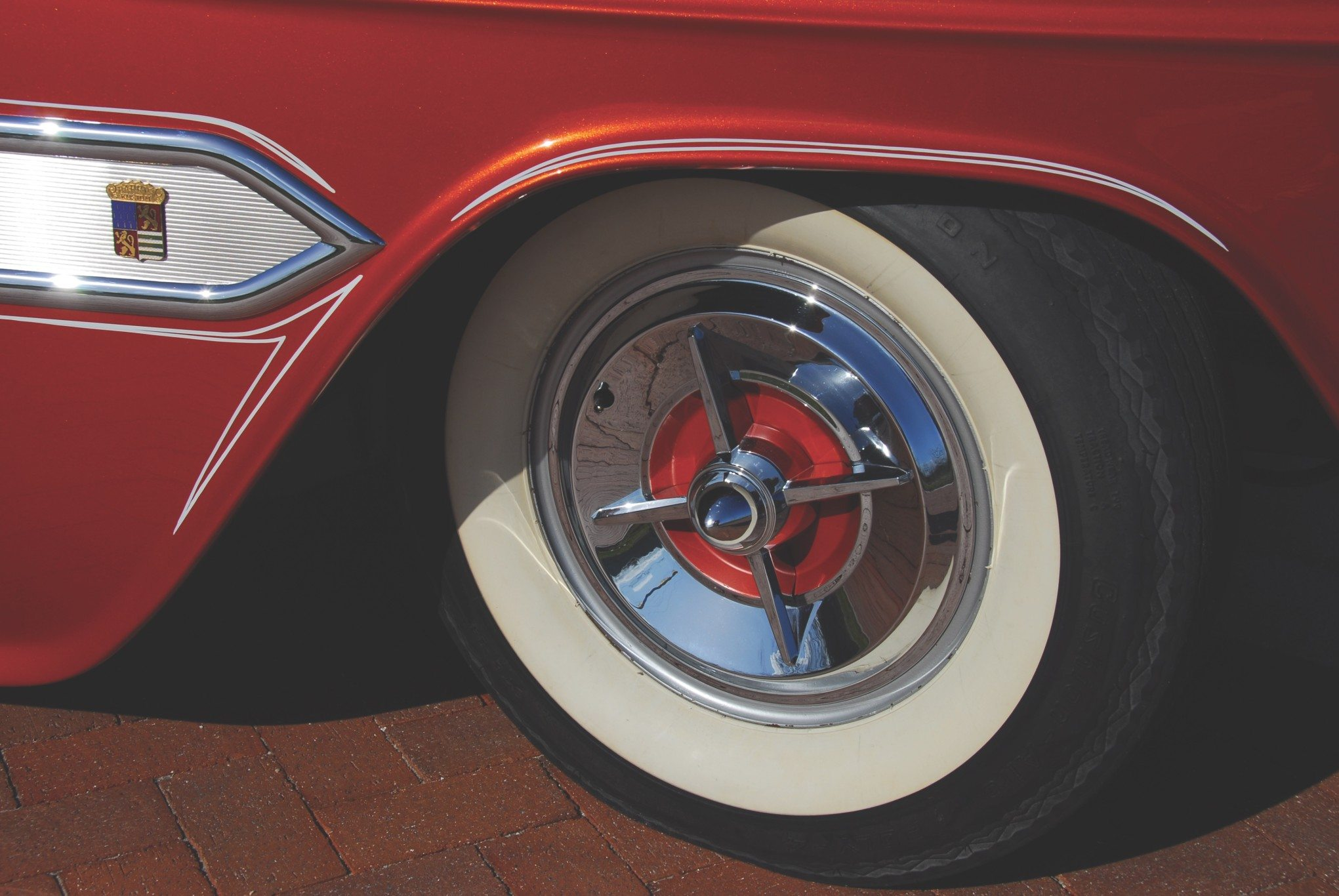 1955 Chevy Aztec Custom Wheel