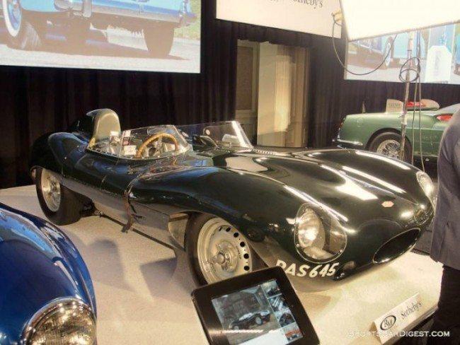 1955 Jaguar D-Type Amelia image 1