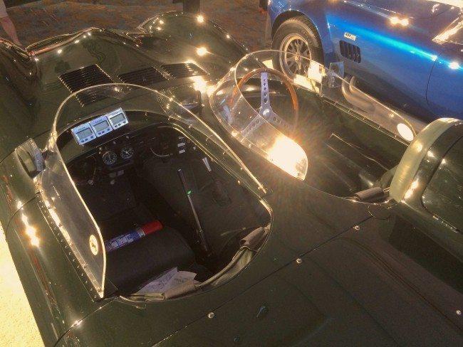 1955 Jaguar D-Type Amelia image 2 interior