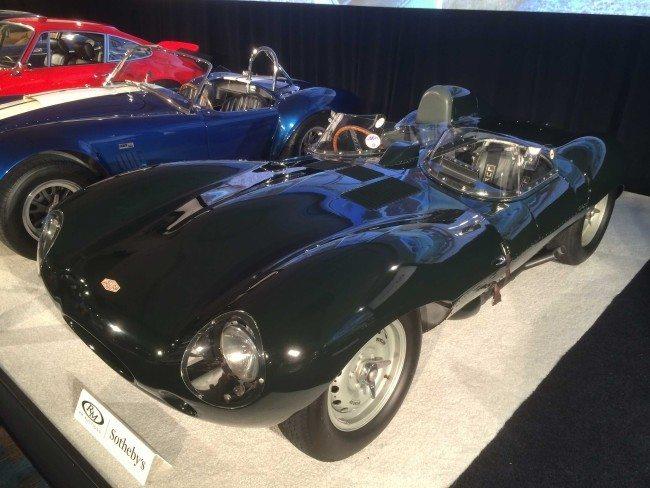 1955 Jaguar D-Type Amelia image 3 overall