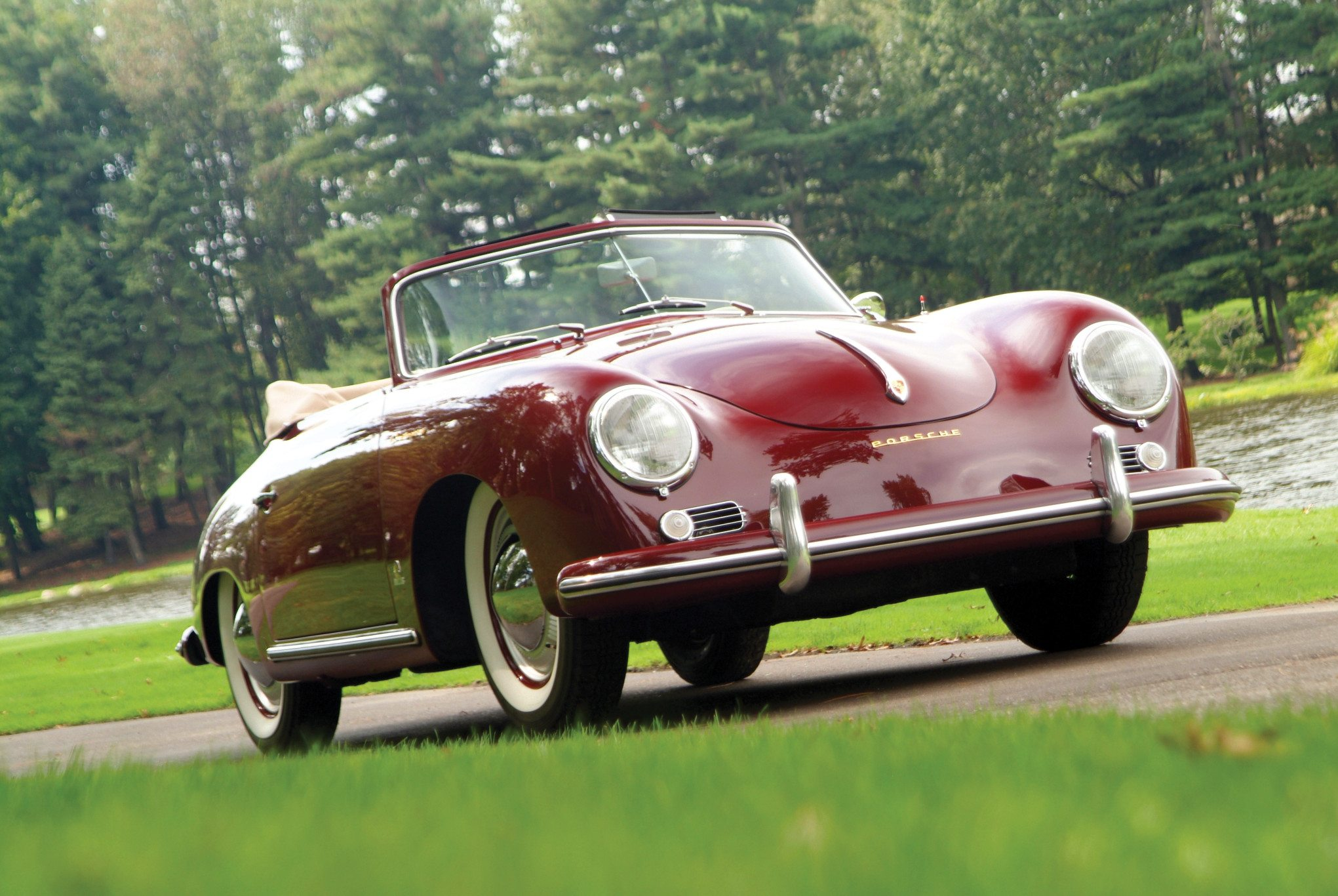 1955 Porsche 356 Continental The Grand Dame Of Zuffenhausens 1953 Lincoln Convertible Coupes And Cabriolets Wore Nameplates On Front Fenders This Was Done At Request Importer Max Hoffman Who Insisted