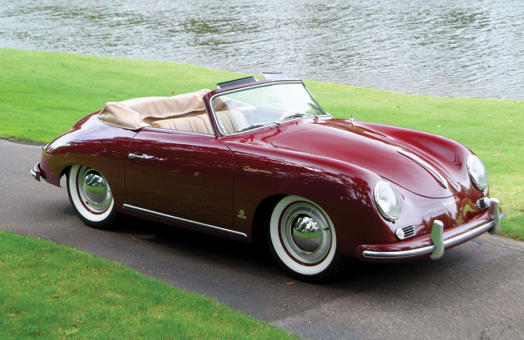 1955 Porsche 356 Continental Top Down