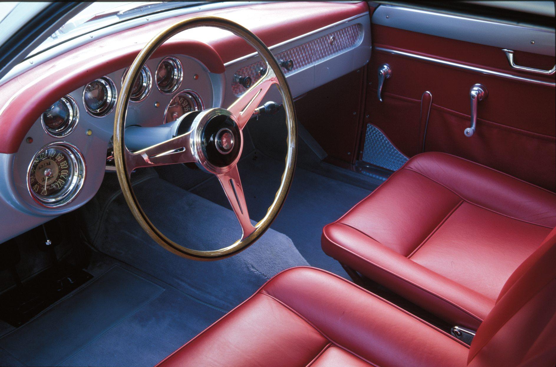 1956 Alfa Romeo 1900 SS Zagato Coupe Interior