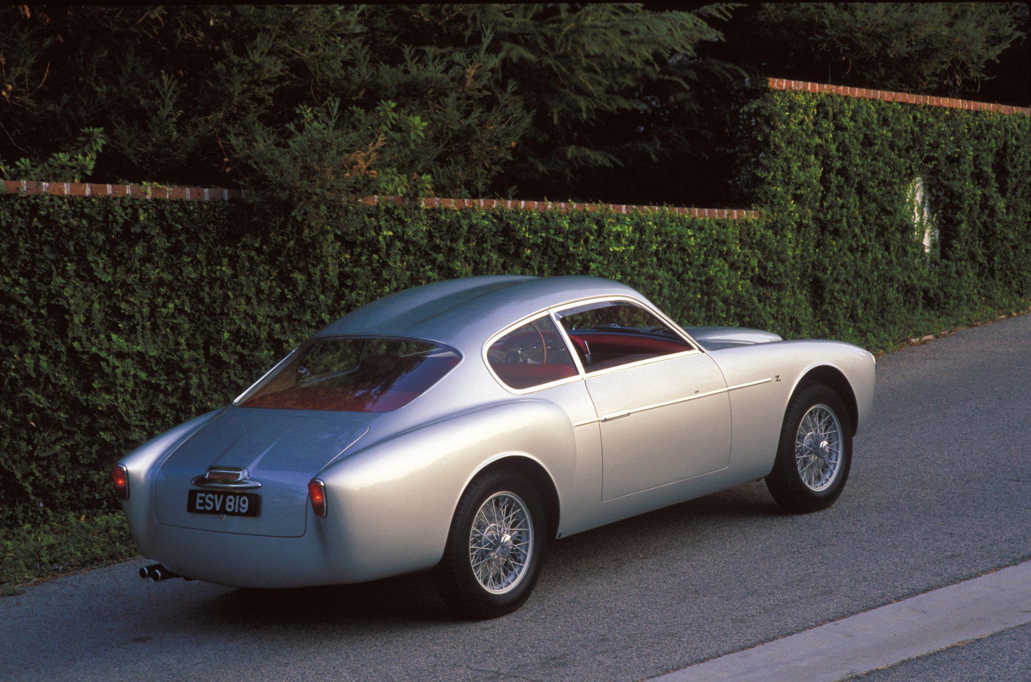1956 Alfa Romeo 1900 SS Zagato Double Bubble Coupe Rear