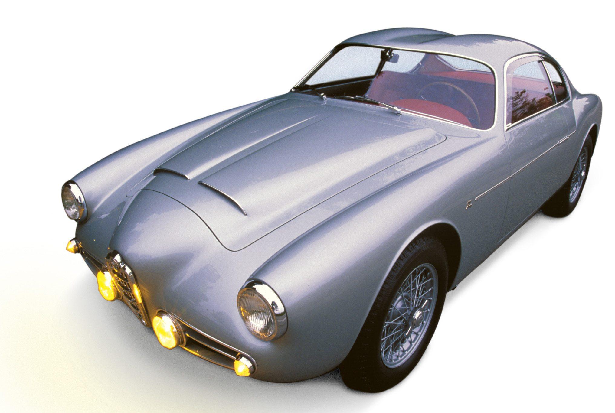 1956 Alfa Romeo 1900 SS Zagato Double Bubble Coupe