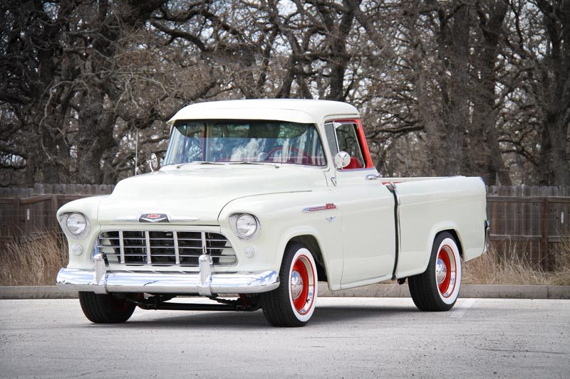 1956 Chevrolet 3100 Cameo Pickup Heacock Classic Insurance