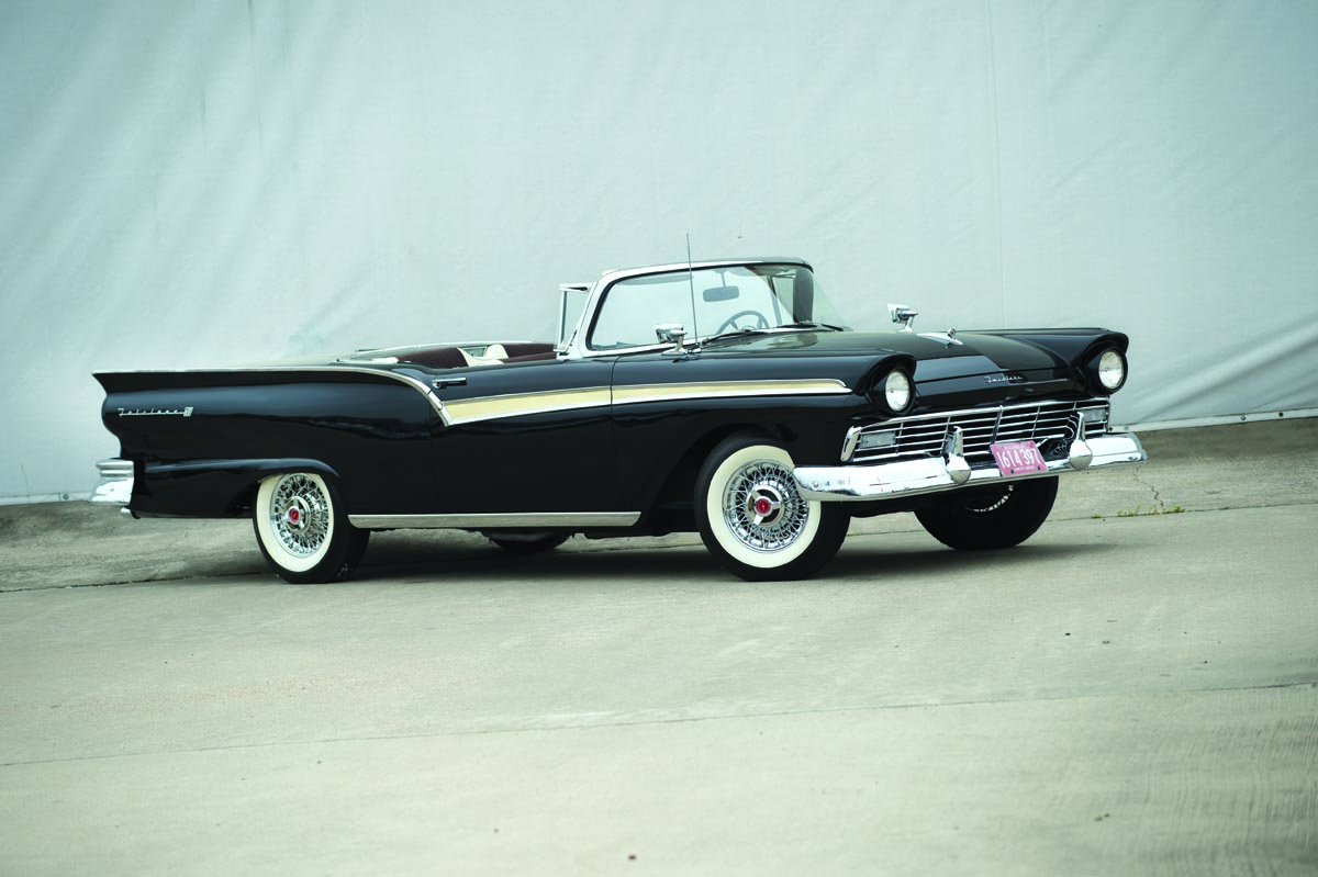 1957 ford fairlane 500 skyliner retractable heacock classic insurance. Black Bedroom Furniture Sets. Home Design Ideas