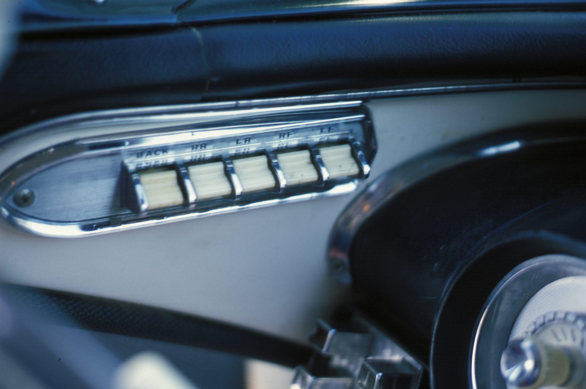 1957 Mercury Colony Park Power Window Switches