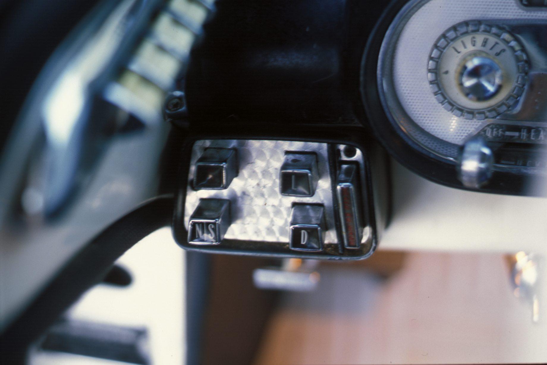 1957 Mercury Colony Park Push Button Gear Selector