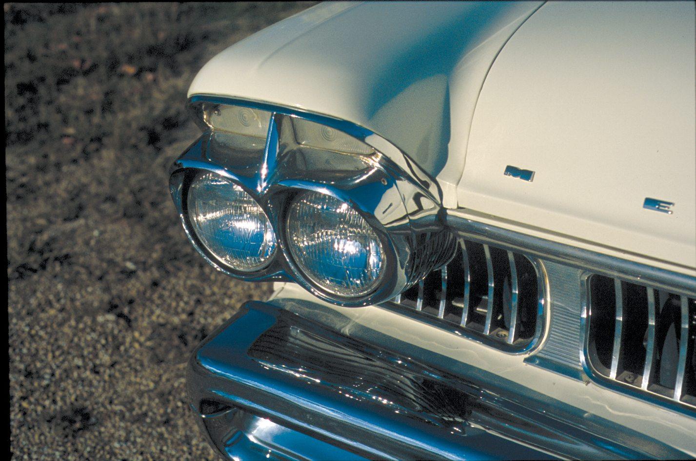 1957 Mercury Colony Park Quadra-Beam Headlights