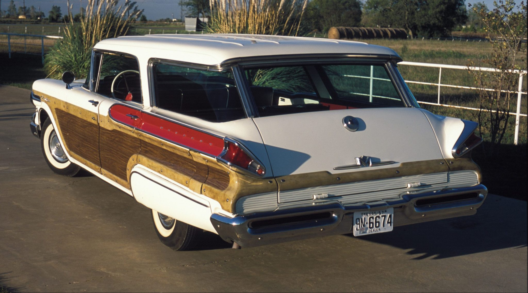 1957 Mercury Colony Park Rear View