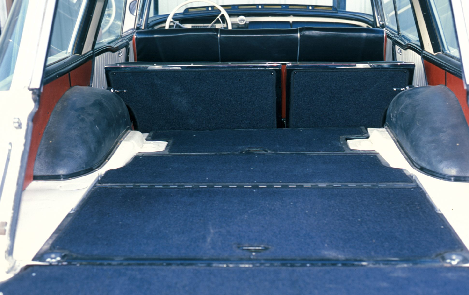 1957 Mercury Colony Park Truck Space With Rear Seats Down