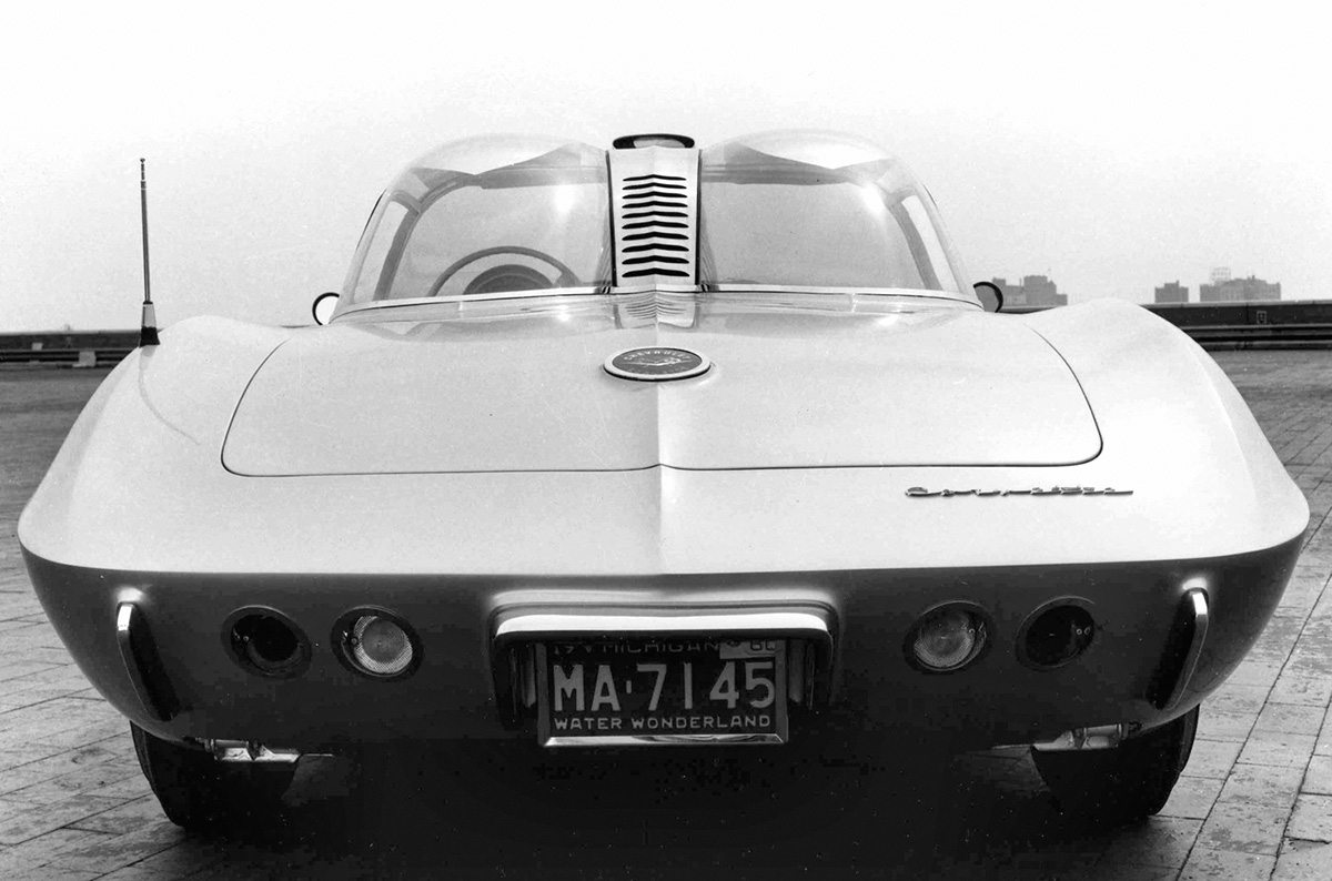 1958 Corvette XP 700 Concept Rear