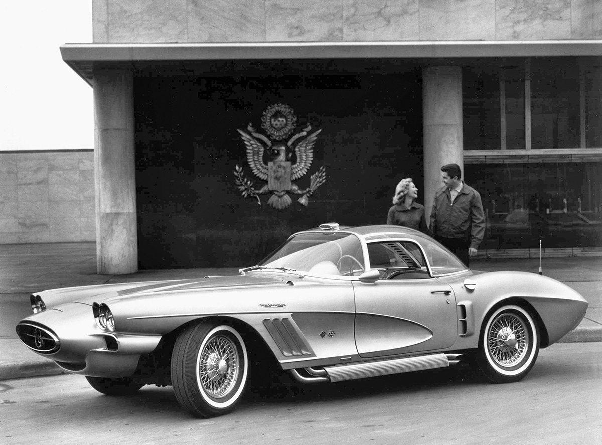1958 Corvette XP 700 Concept