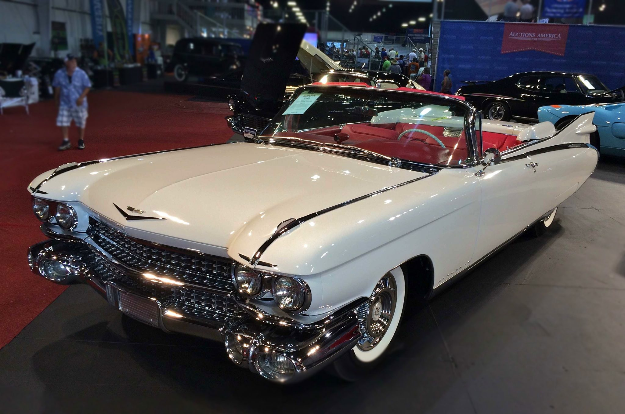 Fully Equipped And Ont In It S Design The 1959 Eldorado Biarritz Is Considered By Many To Be Most Recognizable Post War Cadillac Ever Built