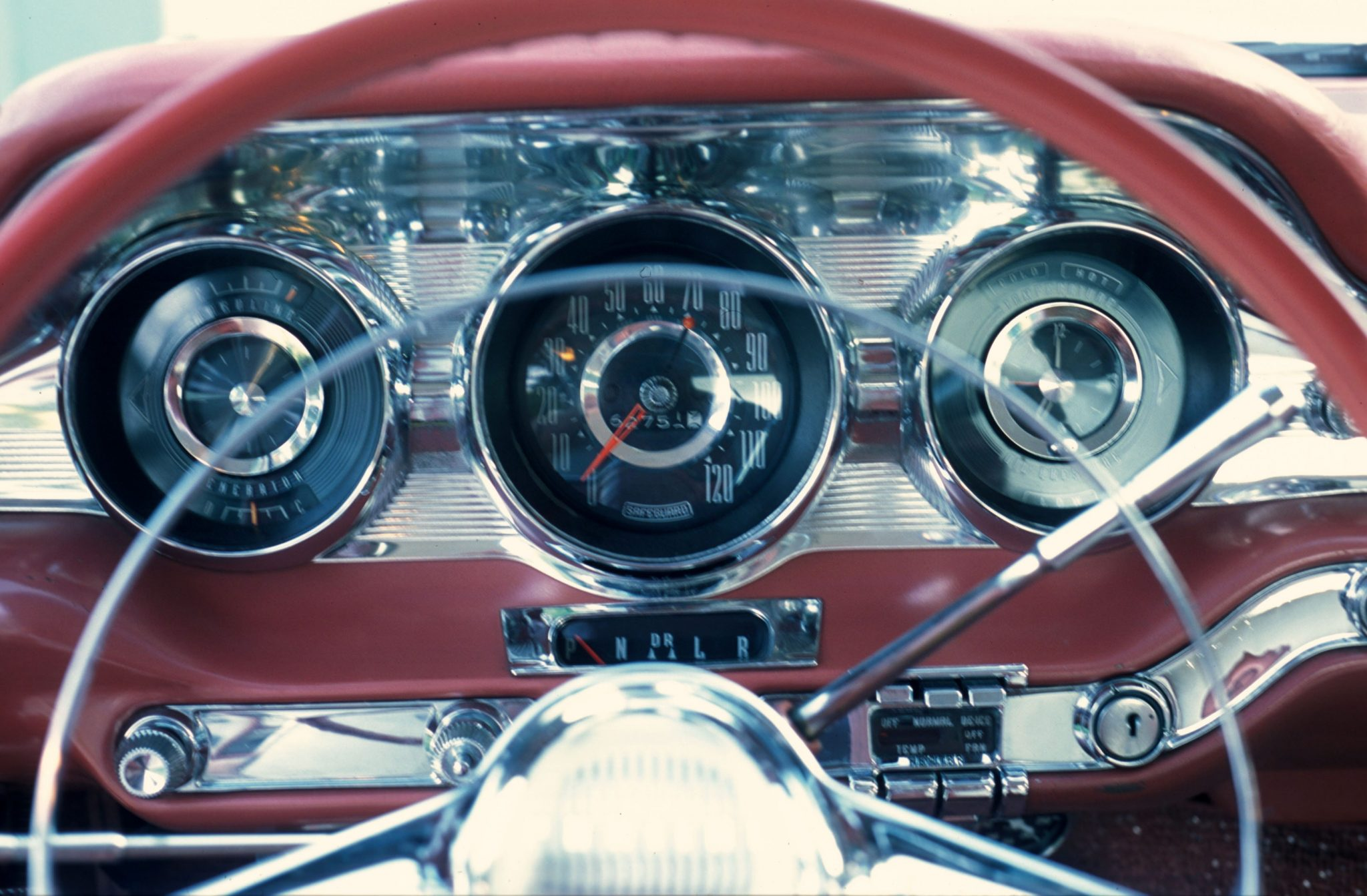 1959 Pontiac Bonneville Dash and Gauges