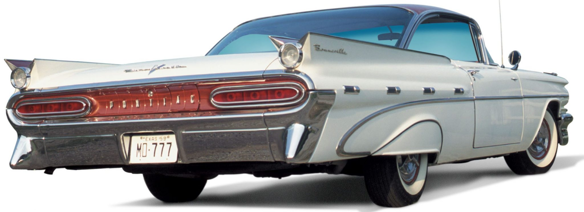 1959 Pontiac Bonneville Twin-Finned Quarters