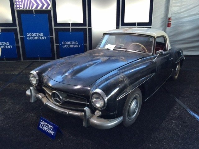 1960 Mercedes Benz 190sl Choose It Or Lose It Heacock Classic