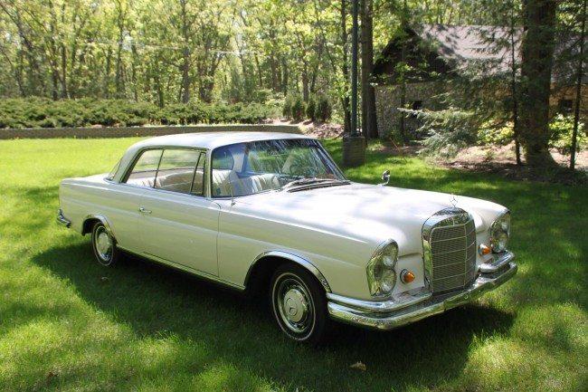 1962 MB 220SE 2