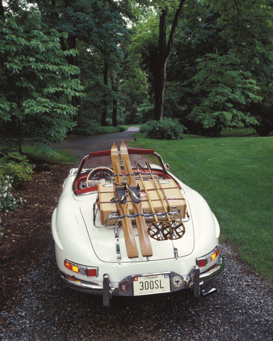 1963 300sl Roadster Rear Luggage Rack
