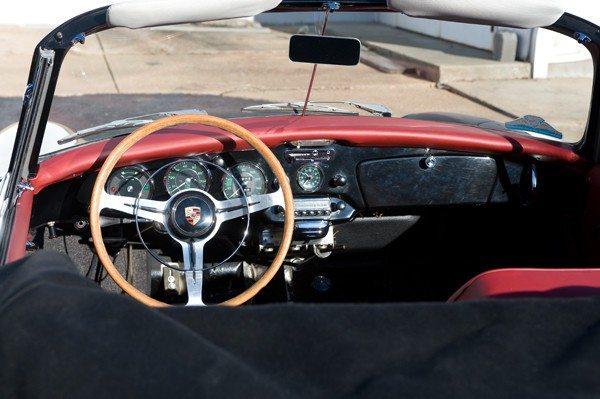 1963 356 Cab 3 interior