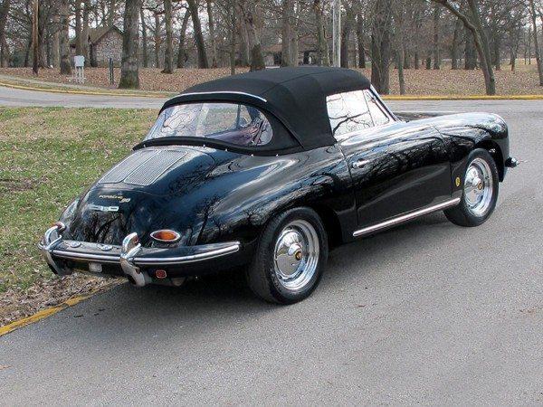 1963 356 Cab 4 rear