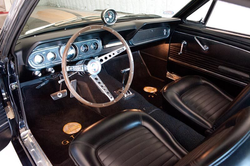 1966 GT 350 Hertz Show Car Interior