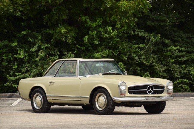 1966 MB 230 1 exterior