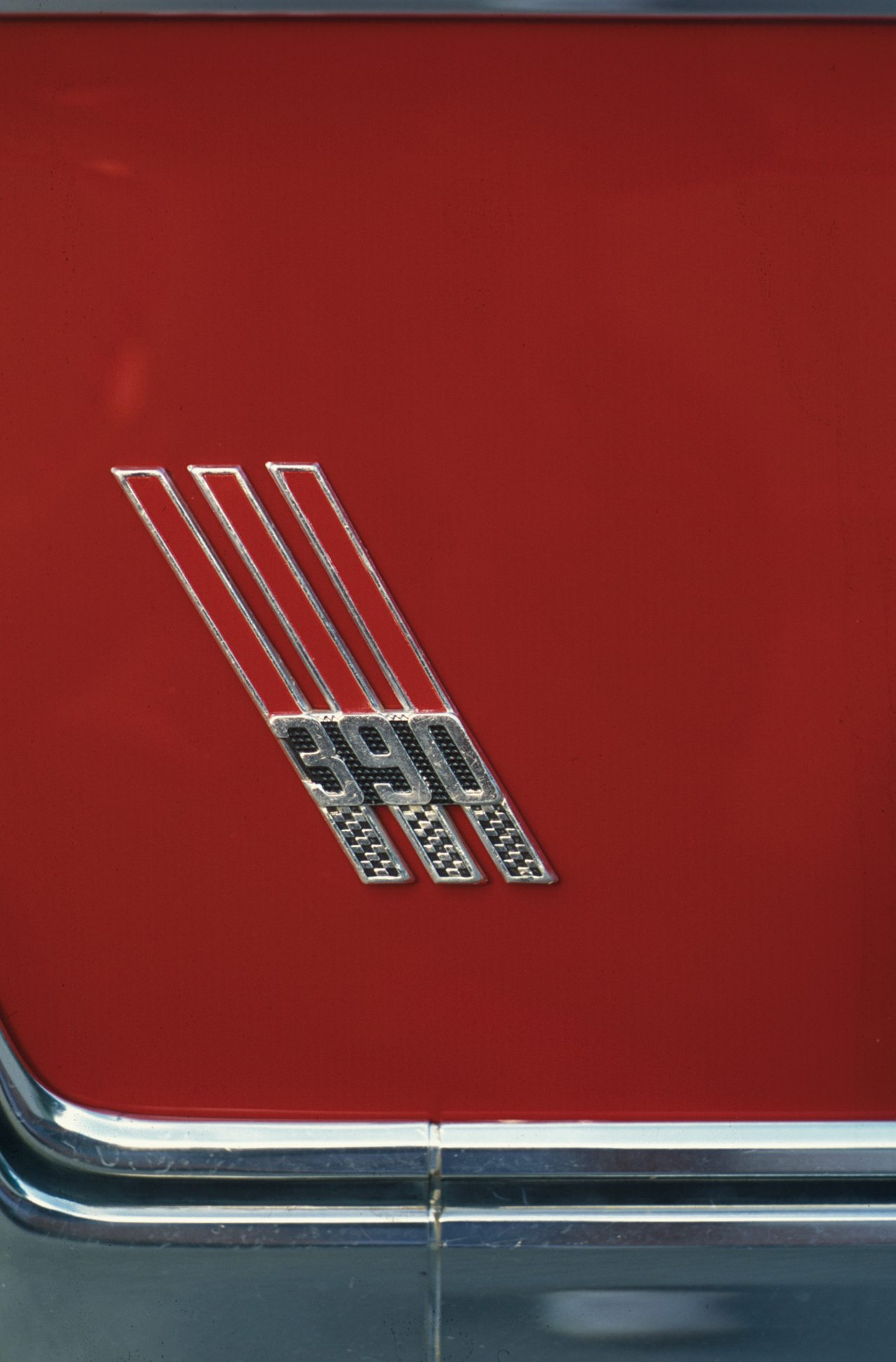 1967 Ford Galaxie 500 390 Badge