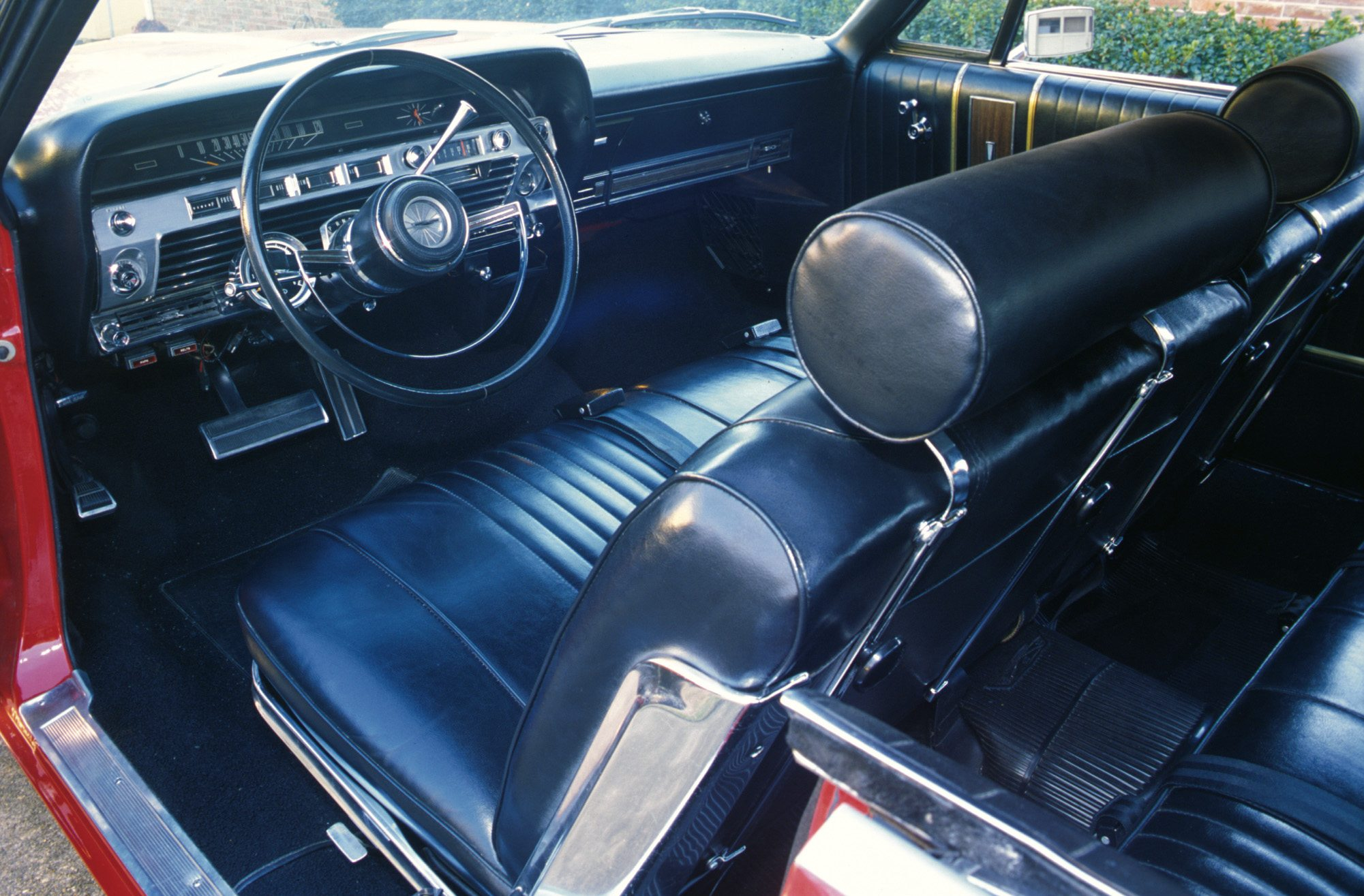 1967 Ford Galaxie 500 interior
